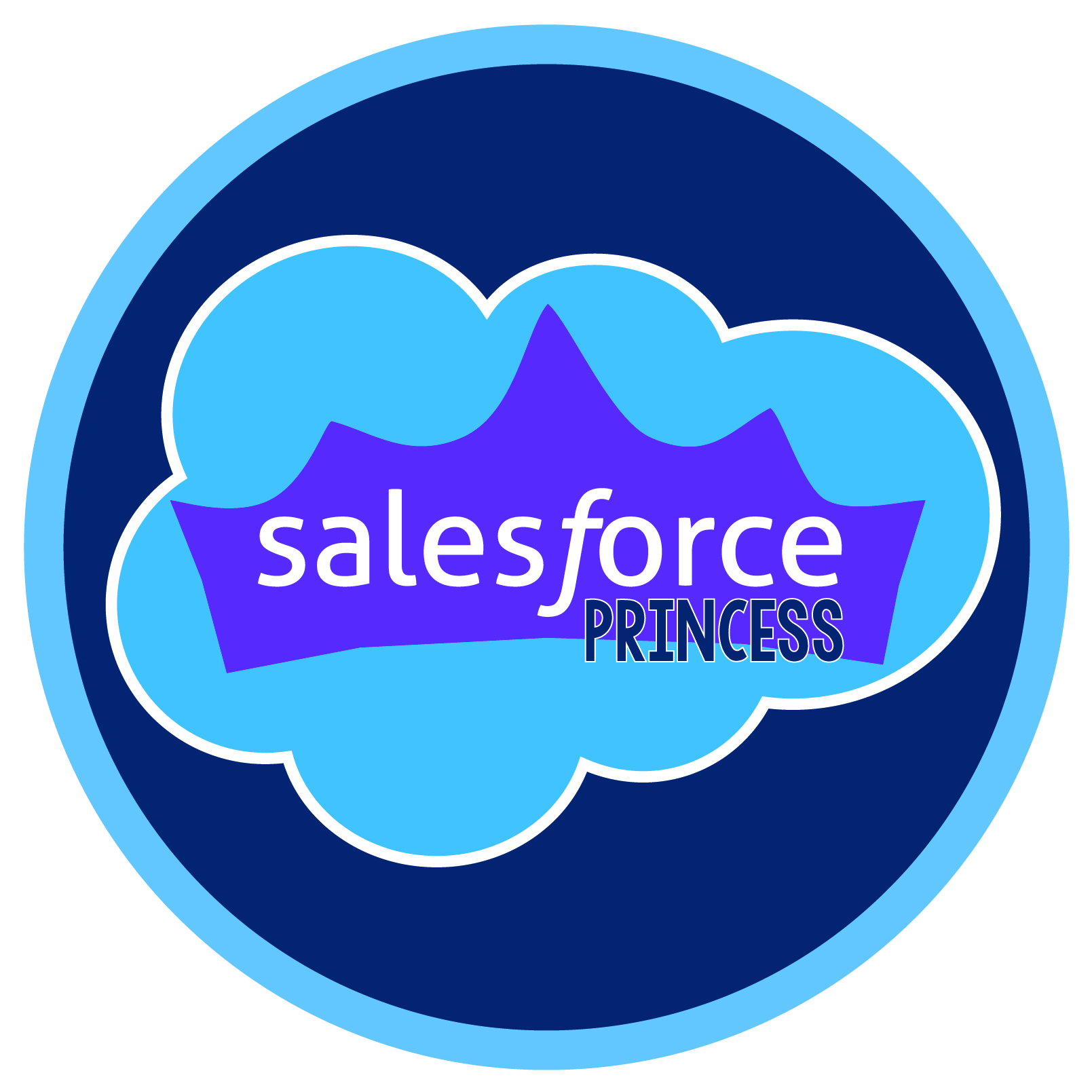 #SalesforcePrincess